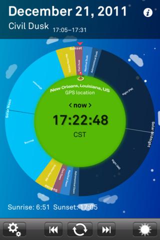 Sol: Sun Clock App – The Overthinker