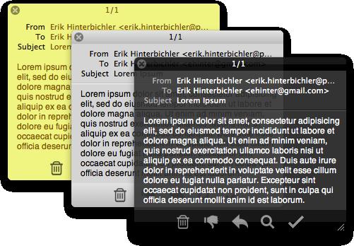 Herald for Apple Mail screenshot