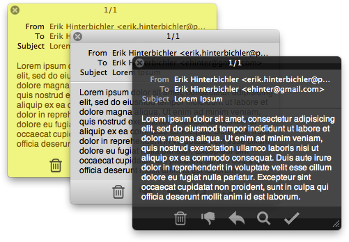 Herald for Apple Mail screenshot