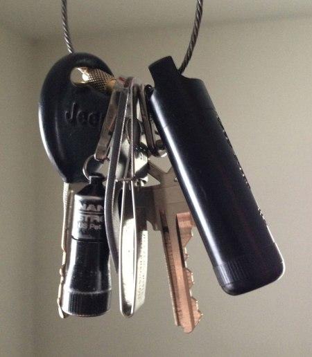 EDC keychain