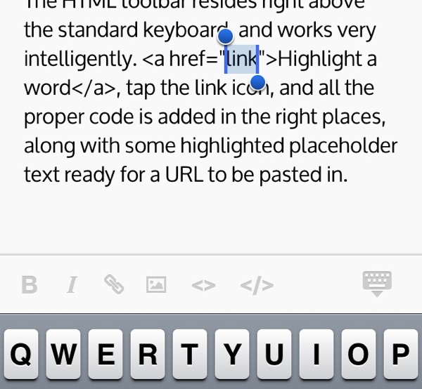 WordPress app Poster screenshot