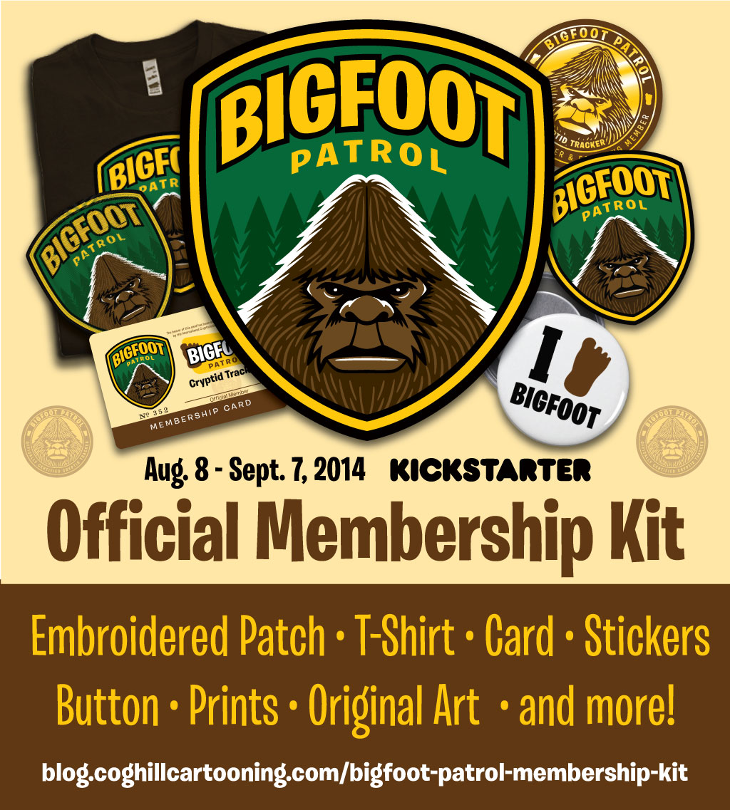 Bigfoot Patrol Membership Kit