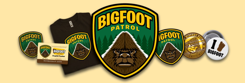 Bigfoot Patrol merchandise