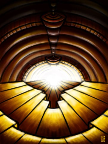 Psychedelic-Tunnel-sketch-03-Antechamber-Coghill
